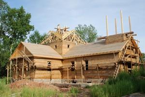 Строительство храма в Усть-Куте