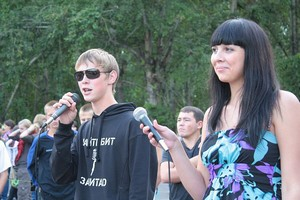 Арсений Евстегнеев и Ольга Мотовникова