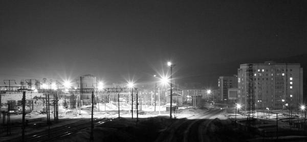 Чумаченко А. Ночное депо